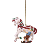 CANDY COATED TREAT ORNAMENT