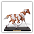 1A  PAINTED HARMONY FIGURINE