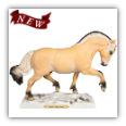 LITTLE BIG HORSE FIGURINE