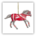 CRIMSON JOY ORNAMENT