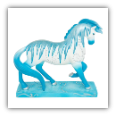 HOLIDAY ICE FIGURINE