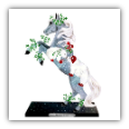 MISTLETOE KISSES FIGURINE